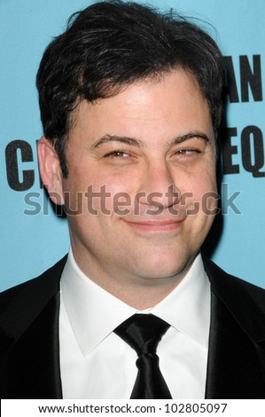 Jimmy Kimmel at the 24th Annual American Cinematheque Award Ceremony Honoring Matt Damon, Beverly Hilton hotel, Beverly Hills, CA. 03-27-10 - stock photo