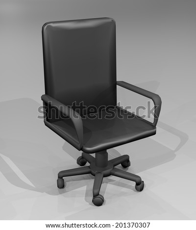 Job business chair - stock photo