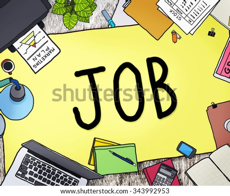 Job Career Occupation Working Concept - stock photo