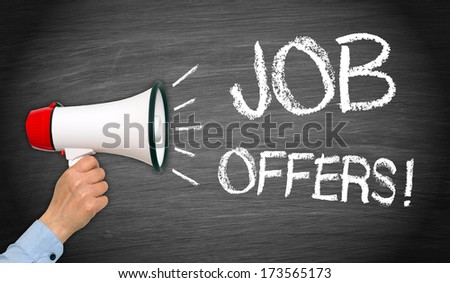 Job Offers ! - stock photo