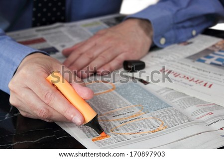 Job Search - stock photo