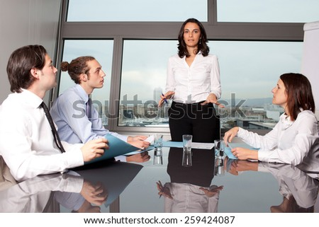 Job Training - stock photo