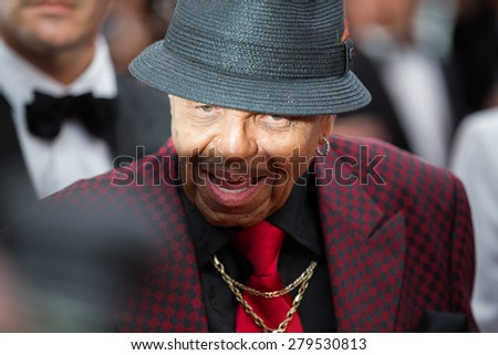 Joe Jackson attends the Premiere of 'Sicario' during the 68th annual Cannes Film Festival on May 19, 2015 in Cannes, France. - stock photo