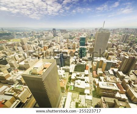 Johannesburg Skyline  - stock photo