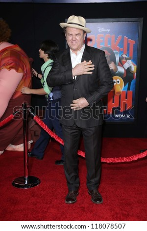 "John C. Reilly at the ""Wreck-It Ralph"" Film Premiere, El Capitan, Hollywood, CA 10-29-12 - stock photo"