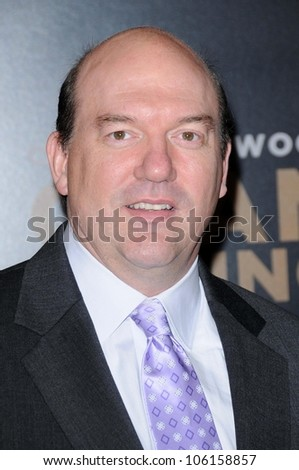 John Carroll Lynch   at the World Premiere of 'Gran Torino'. Warner Bros Studios, Burbank, CA. 12-09-08 - stock photo
