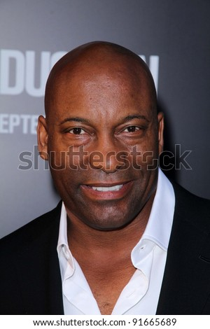 "John Singleton at the ""Abduction"" World Premiere, Chinese Theater, Hollywood, CA. 09-15-11 - stock photo"