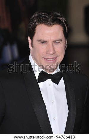 John Travolta at the G'Day USA Australia.com Black Tie Gala at the Hollywood & Highland Centre, Hollywood, CA. January 19, 2008  Los Angeles, CA Picture: Paul Smith / Featureflash - stock photo