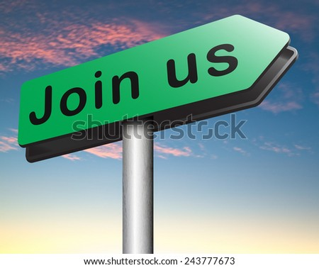 join us now register online and get a subscription membership sign in here - stock photo