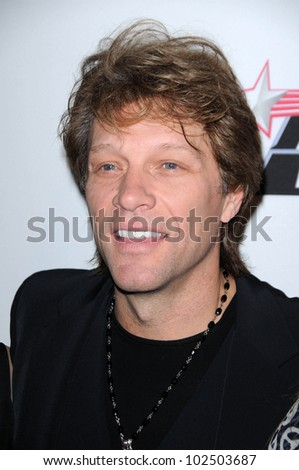 Jon Bon Jovi at The Recording Academy and Clive Davis Present The 2010 Pre-Grammy Gala - Salute To Icons, Beverly Hilton Hotel, Beverly Hills, CA. 01-30-10 - stock photo