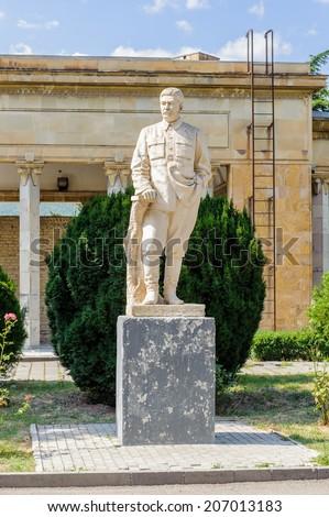 Joseph Stalin statue - stock photo
