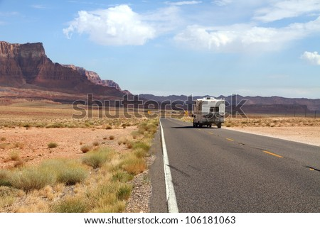 Journey ahead - stock photo