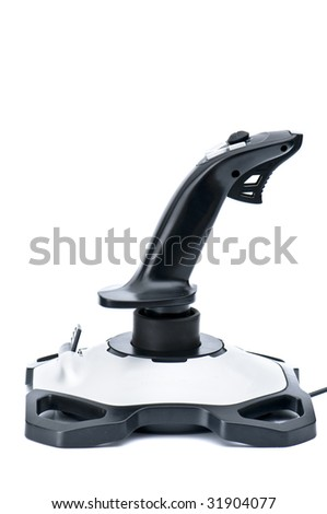 joystick for playing games - stock photo