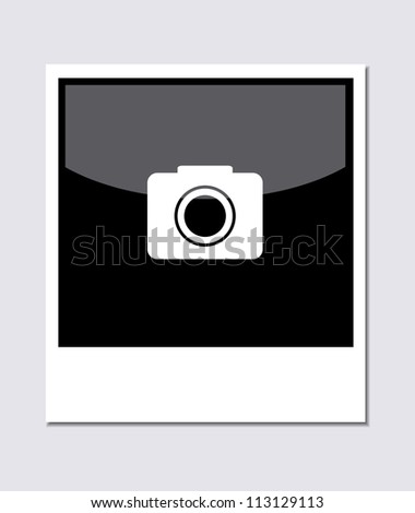 Jpeg version. photo on gray background - stock photo