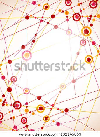 jpg, molecular structure, abstract background - stock photo