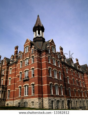 Jubilee Hall Fisk University - stock photo