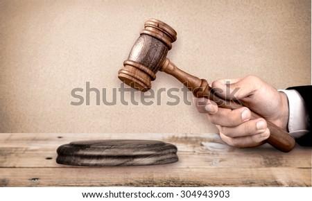 Judge. - stock photo