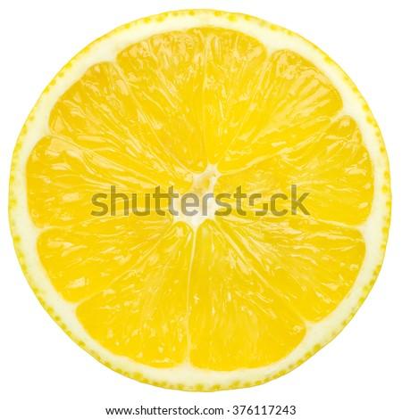juicy lemon - stock photo