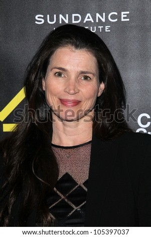 Julia Ormond at the Sundance Institute Benefit Presented by Tiffany & Co., Soho House, Los Angeles, CA 06-06-12 - stock photo