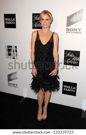 Julie Bowen at the L.A. Gay And Lesbian Center Hosts 'An Evening' honoring Amy Pascal and Ralph Ricci, Beverly Wilshire, Beverly Hills, CA 03-21-13 - stock photo
