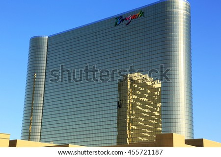 July 11, 2016 Borgata Hotel and Casino in Atlantic City NJ. - stock photo
