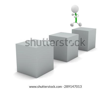 Jump - stock photo
