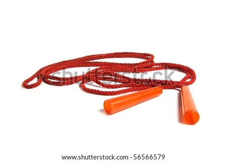 jumping rope - stock photo