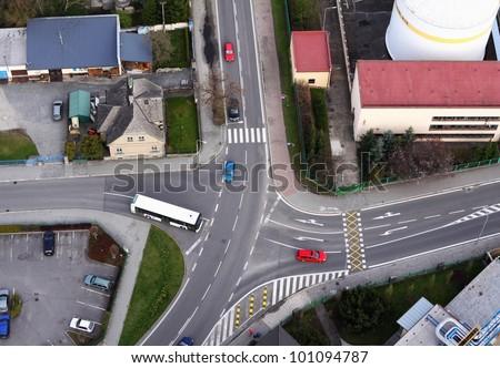 junction - stock photo