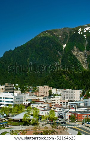 Juneau, Alaska - stock photo