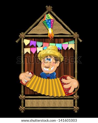 Junina Party Theme - stock photo
