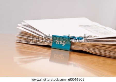 Junk Mail Concept Image - stock photo