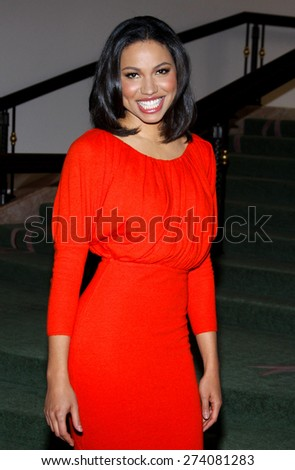 Jurnee Smollett at the 2009 Essence Black Women in Hollywood Luncheon held at the Beverly Hills Hotel in Beverly Hills on February 19, 2009.  - stock photo