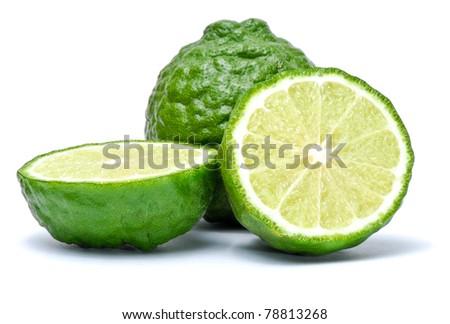 Kaffir Lime - stock photo