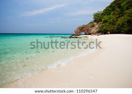 Kai island at tarutao national park in summer ,Satun in Thailand - stock photo