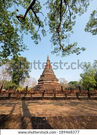 Kamphaeng Phet Historical Park, Thailand - stock photo