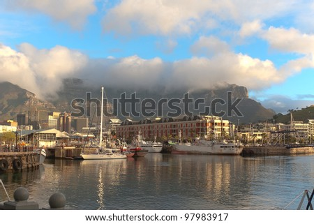 Kapstadt waterfront, Cape Town, South Africa - stock photo