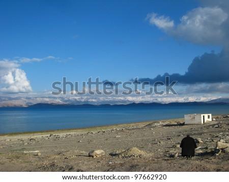 Karakul Lake Pamir Karakul Lake Pamir