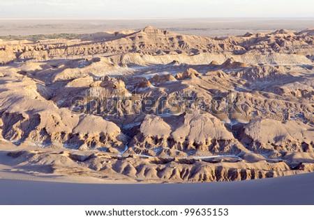 Kari Gorge Atacama Desert Chile - stock photo