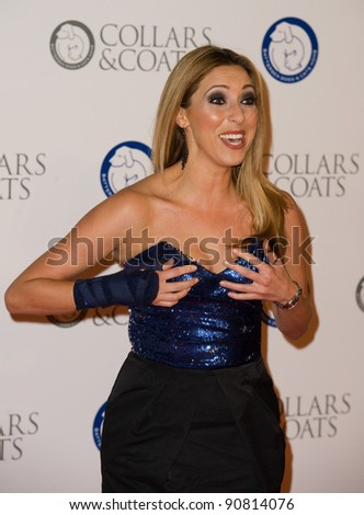 Kate Walsh at Battersea Evolution for the 2011 Collars & Coats Ball on behalf of the Battersea Dogs Home. London 11th Nov 2011 Pics by Simon Burchell / Featureflash - stock photo