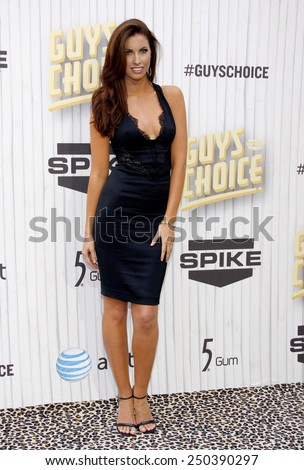 Katherine Webb at the 2013 Guys Choice Awards held at the Sony Pictures Studios in Culver City, California, United States on June 8, 2013. - stock photo