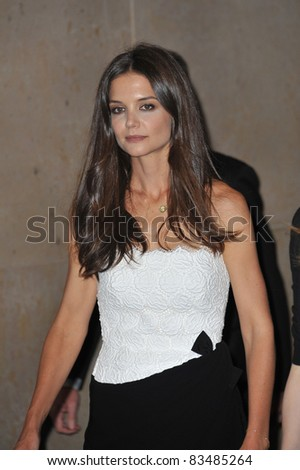 Katie Holmes at the Women in Film 2011 Crystal + Lucy Awards at the Beverly Hilton Hotel. June 16, 2011  Beverly Hills, CA Picture: Paul Smith / Featureflash - stock photo