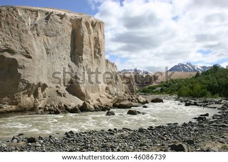 Katmai National Park wilderness - stock photo