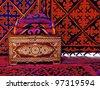 Kazakh National yourt - stock photo