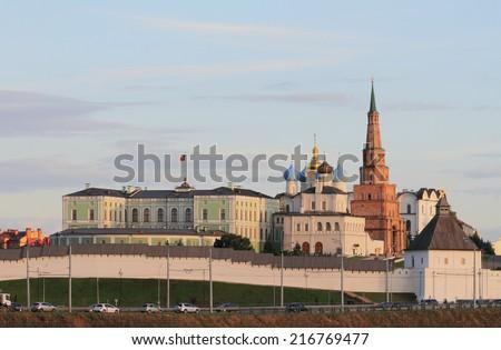 Kazan Kremlin, Tatarstan, Russia - stock photo