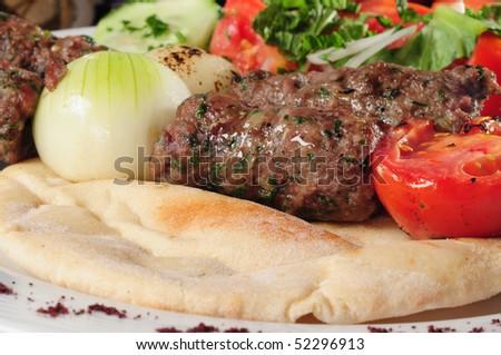 Kebab. - stock photo