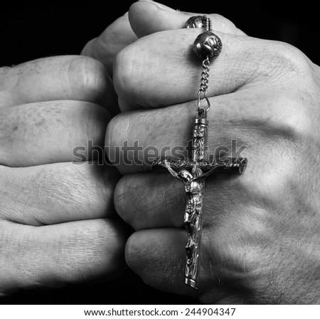 Keeping the faith  - stock photo