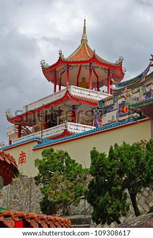 Kek Lok Si Buddhist Temple, Penang, Malaysia - stock photo