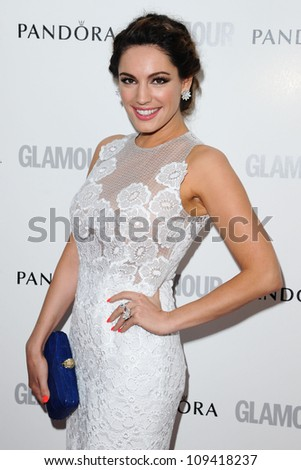 Kelly Brook arriving for the Glamour Women Of The Year Awards 2012, at Berkeley Square, London. 29/05/2012 Picture by: Steve Vas / Featureflash - stock photo