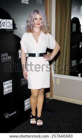 Kelly Osbourne at the Los Angeles Gay & Lesbian Center Honors Rachel Zoe held at the Sunset Tower Hotel, California, United States on January 23, 2012.  - stock photo