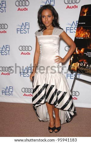 """KERRY WASHINGTON at the AFI Festival premiere of her new movie """"The Dead Girl"""". November 7, 2006  Los Angeles, CA Picture: Paul Smith / Featureflash - stock photo"""